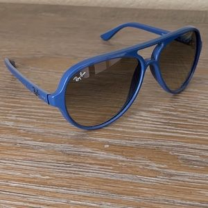 Ray bans unisex blue sunglasses RB4125 cats 5000